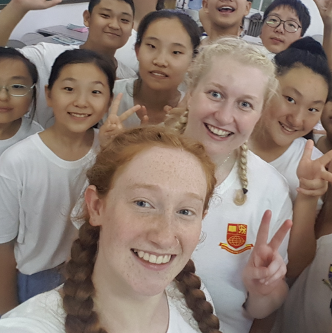 Well funded summer camp internships in Asia