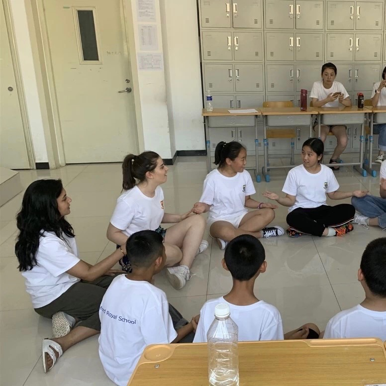 Offering in-country summer camp teaching placements