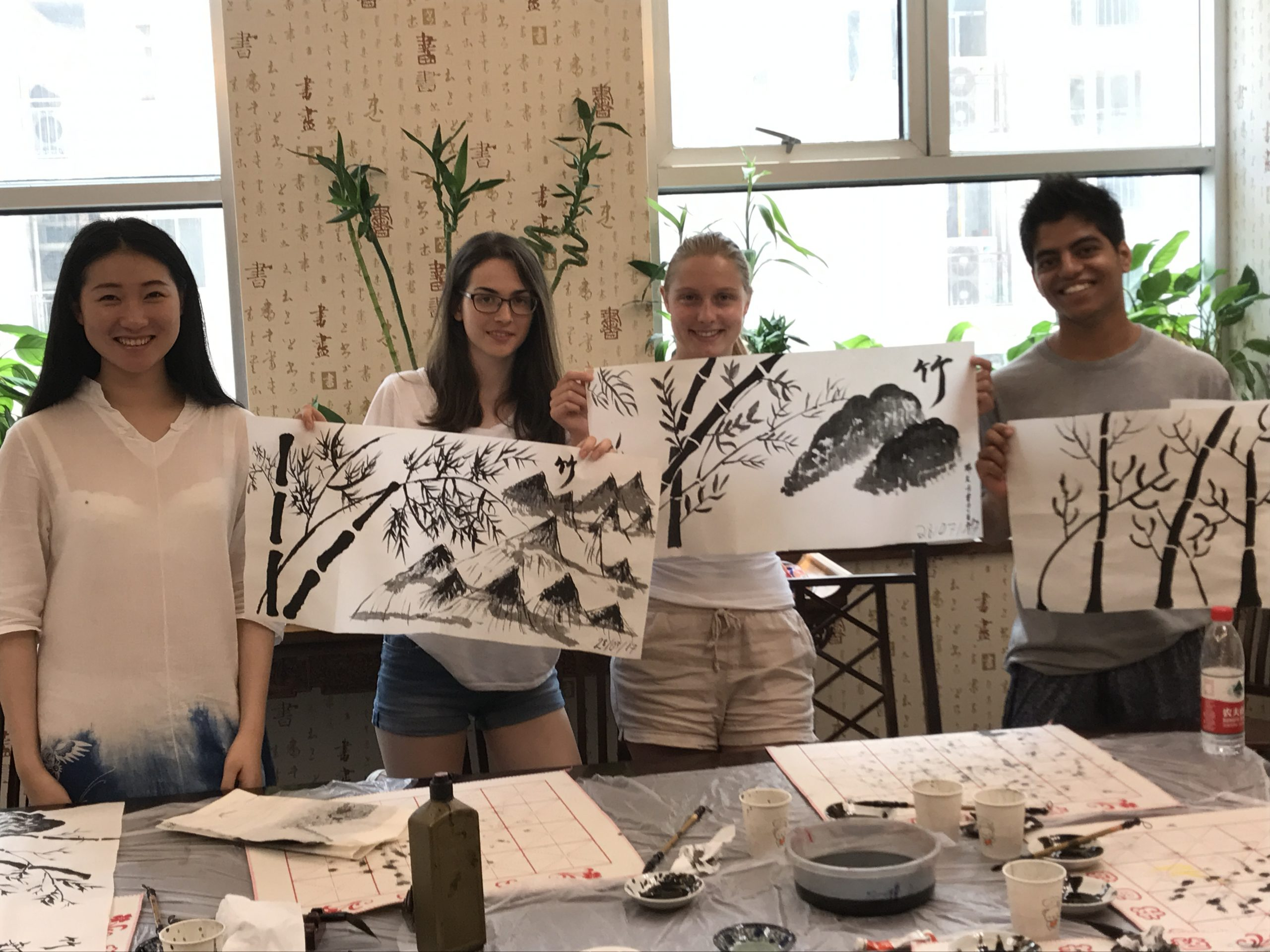 Loving these great masterpieces from homestay tutors in Shanghai!