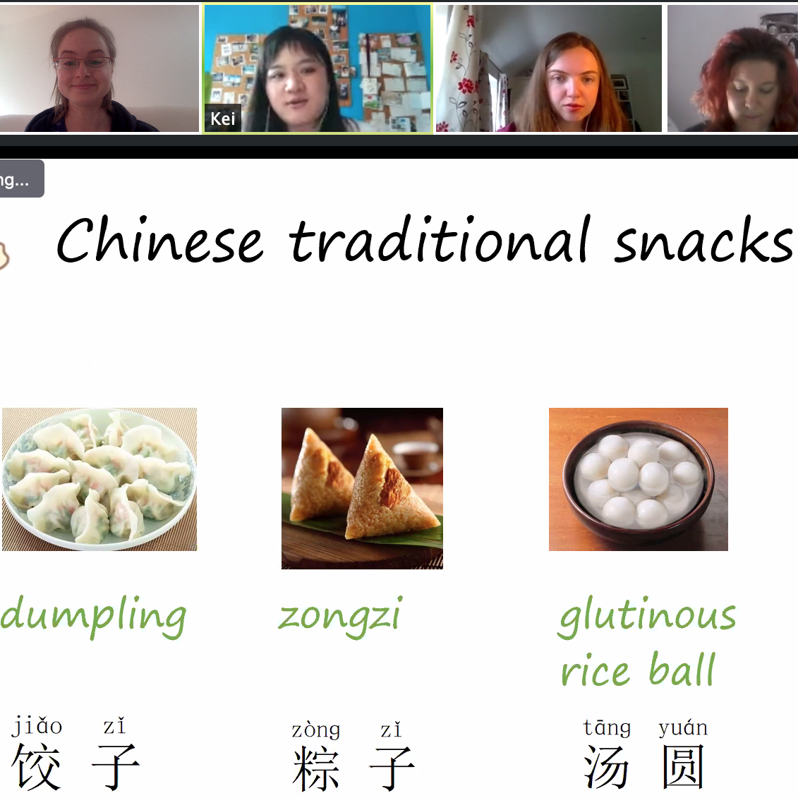 Free online Chinese classes for our online language buddies and incoming homestay tutors