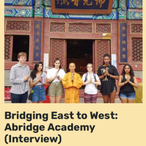 Connecting Cultures Interview Abridge Academy