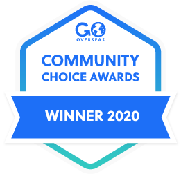 GoOverseas Community Choice Awards Winners 2020